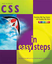 CSS in Easy Steps, McGrath, Mike | Paperback Book | New | 9781840783018