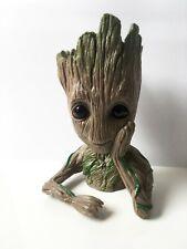 Baby Groot Guardians of The Galaxy Tree Man Figure Flowerpot Plant Pen Pot Toy