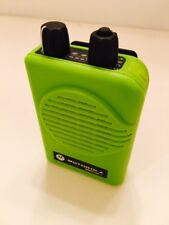Motorola Minitor V 5 Uhf Band Pagers 453-462 Mhz Stored Voice 2-Chan Apex Green