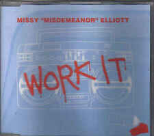 Missy Elliott-Work It cd maxi single