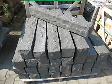 Basalt Palisade, Pergole, Leistenstein, Bordsteine, Einfriedigung, 150x12x12cm