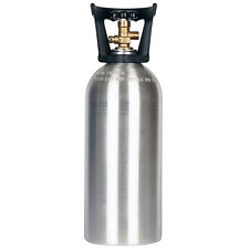 10 lb. Co2 Cylinder New Aluminum with Handle - Cga320 Valve - Fresh Hydro-Test!