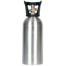 10 lb. CO2 Cylinder New Aluminum with Handle - CGA320 Valve - Free Shipping!