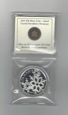**2011**Canada, Montana Snowflake, Silver $20 Dollar Coin