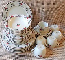 Japanese ARTIS 29PC 6 Dinner Plates 6 Coffee Cup W/ Saucer 6 Salad Plates 5 Bowl