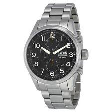 Oris Big Crown Pro Pilot Chronograph Black Dial Mens Watch 774-7699-4134MB