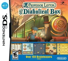 Professor Layton And The Diabolical Box - Nintendo DS - Game Only