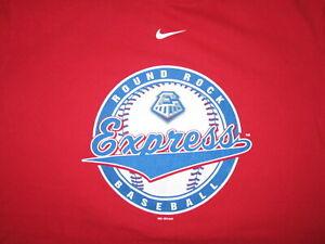 ROUND ROCK EXPRESS T SHIRT Minor League Baseball Texas Houston Astros Nike MED