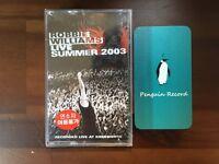 Robbie Williams - Live Summer 2003 CASSETTE TAPE KOREA EDITION SEALED