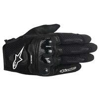 Alpinestars Stella Ladies SMX-1 AIR Black Short Women Motorcycle Gloves SMX1