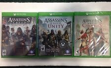ASSAIN'S CREED SYNDICATE UNITY & CHRONICALES - XBOX ONE BRAND NEW SEALED