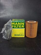 MANN OIL FILTER BMW E36 320 325 E46 320 325 330 E39 528 525 530 X5 E53 HU925/4X