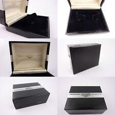 Heuer cronosplit quartz box etui ecrin uhrenbox vintage NOS (lot  71)