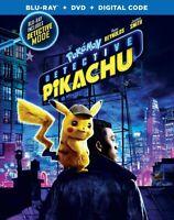 Pokemon Detective Pikachu (Blu-ray + DVD + Digital) Standard Edition NEW