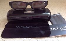 Vintage Dolce and Gabbana Piano Black Sunglasses D&G