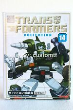 Authentic Takara Transformers Collection TFC14 G1 Hound Bookstyle Reissue *13