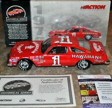 Hawaiian Tropic 1979 Donnie Allison 1:24 Oldsmobile Autographed Signed JSA Cert