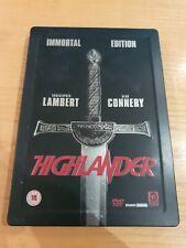 Highlander Steelbook DVD Immortal Edition - FAST & FREE POSTAGE