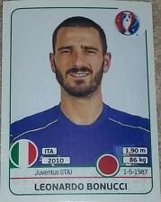 499 Leonardo Bonucci ITALY Panini Euro 2016 France sticker