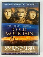 Cold Mountain [Two-Disc Collector's Edition] w Scene insert Free Shipping