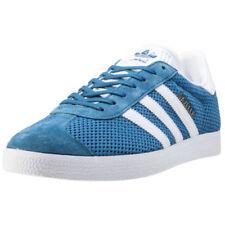 Baskets gazelles bleus pour femme