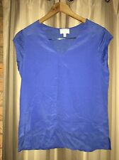 Stunning Silk Linen Witchery Blue Top. Near New And Beautiful!! 100% FREE POST