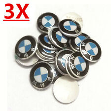 3pcs Metal For BMW Key Fob Remote Badge Logo Emblem Sticker 1 3 5 6 7 E46 E39