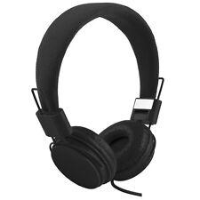 EP05 Headset Kopfhörer mit Mikrofon Stereo fü MP3 IPod Smartphone Tablet Schwarz