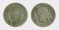 pci4478) VITTORIO EMANUELE II (1861-1878) 1 LIRA STEMMA 1863 MI AR