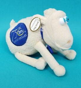 "New Serta # 75 Sheep 8"" Plush Stuffed 2000 75th Anniversary"