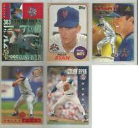 Nolan Ryan Texas Rangers 5 card 1995 FanFest Ryan lot-all different