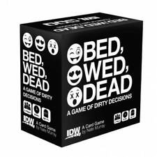 BED, WED, DEAD Dirty Decisions Game (IDW 2016) NEW!