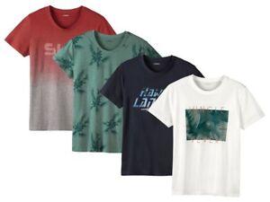 Herren Shirt T-Shirt Kurzarm Rundhals Freizeitshirt Livergy Neu