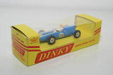 DINKY TOYS 240 COOPER RACING CAR BLUE YELLOW HELMET EXPORT BOX VN MINT BOXED