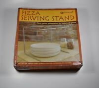 Pizzacraft PC0403 8 x 8 Restaurant Style Pizza Serving Stand Charcoal Companion