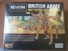 BOLT ACTION BRITISH ARMY STARTER SET 1000 POINTS - NEW & SEALED