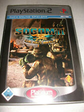 Socom II Ps2 (Sony PlayStation 2, 2008, DVD-Box)