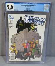 BATMAN AND THE OUTSIDERS #1 (Ryan Sook Variant Cover) CGC 9.6 NM+ DC Comics 2007