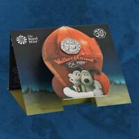 Großbritannien - Wallace and Gromit - 50 Pence 2019 CU/NI BU - United Kingdom