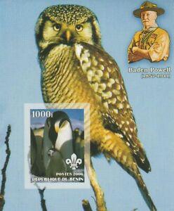 Penguins + Owls Benin Mint 637