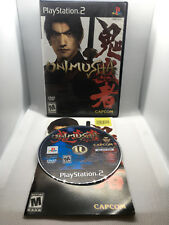 Onimusha Warlords - Complete CIB - Playstation 2 PS2