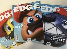 EDGE Magazine September 2017 Super Mario Odyssey COVER 12 & 3 Nex Machina NEW