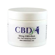 CBD Pain Relief SALVE 50mg Cream BALM Cannabinoids Arthritis Joint Muscle WORKS!