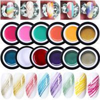 BORN PRETTY 5ml Elastic Drawing UV Gel Nail Polish Glitter Fluorescent Line DIY