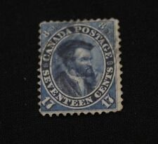 Canada 17c Jacques Cartier 1859  Scott #19 - used