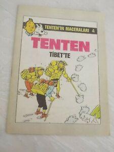 TINTIN - Tintin In Tibet TURKISH RARE TURKEY COMIC