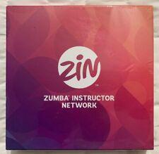 Zin Zumba Instructor Network We Move The World Rare Factory Sealed DVD Box Set