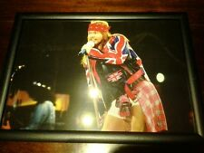 Axl Rose Guns N' Roses A3 size poster - black wood frame & PVC glazed- gift idea