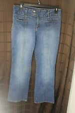 Vintage Women's New York & Co. sz 12 Two Button Two Pocket Light wash Jeans
