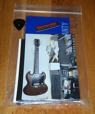 Gibson SG Special Faded Case Candy Manual Warranty Truss Wrench Guitar Parts HP